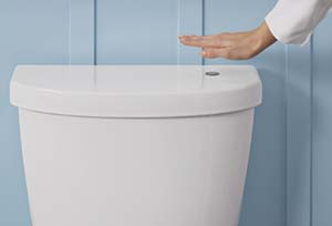 Kohler touchless toilet