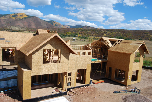 VISION House Aspen construction