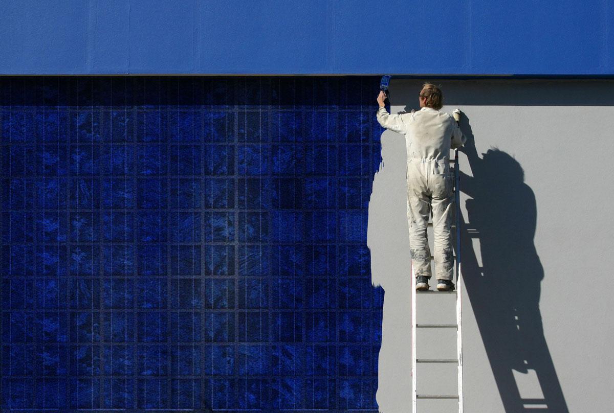 Paint On Solar Particles