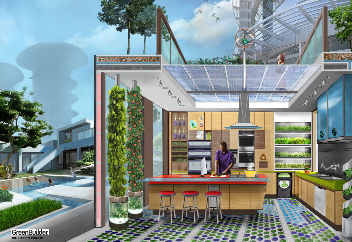 Celestia Kitchen of the Future