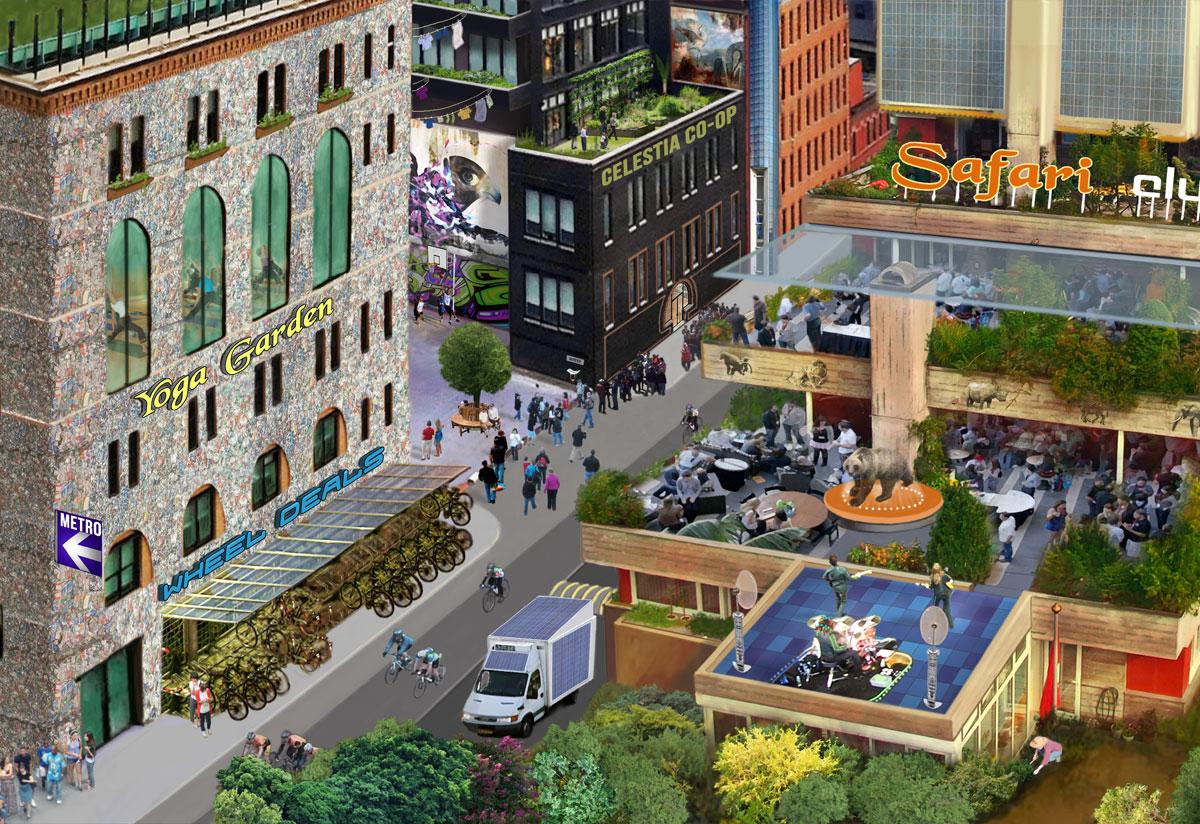 Celestia City of the Future