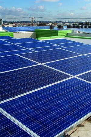 Arbor Green solar rooftop