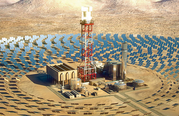 Solar Central Tower
