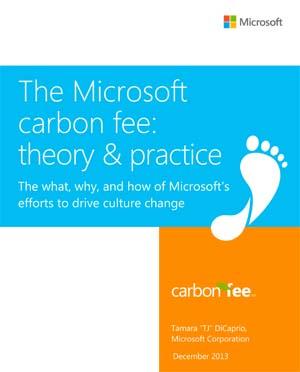 Microsoft Carbon Fee program