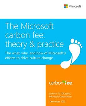 Microsoft Carbon Fee program