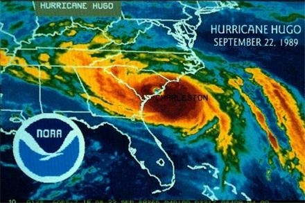 Hurricane Hugo NOAA