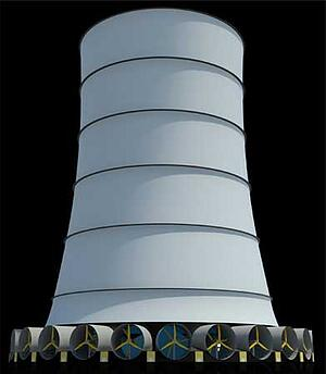 Solar Wind Tower Could Rival Hoover Dam in Power Output