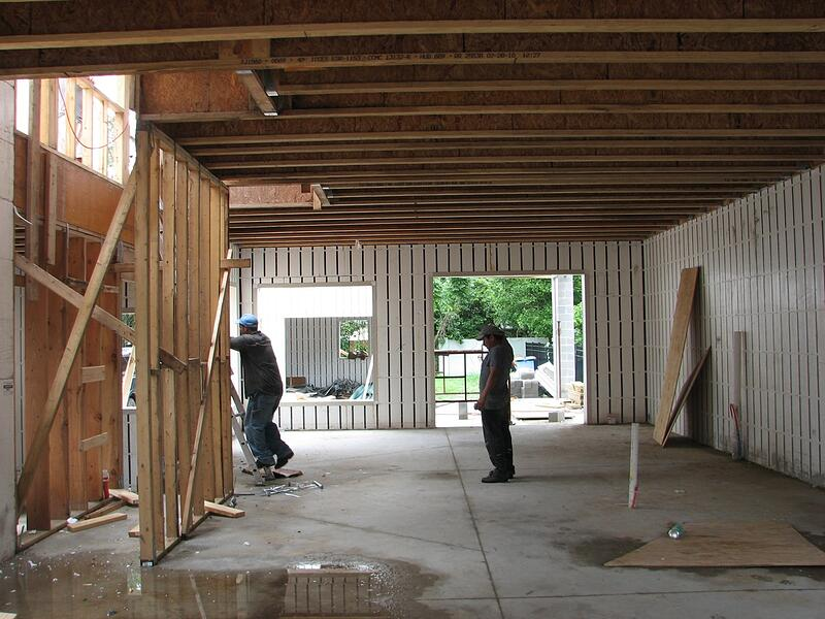 Vision House Orlando Framing Interior