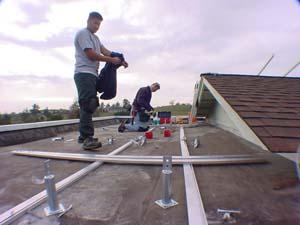 Flat Roofs Earn Their Keep
