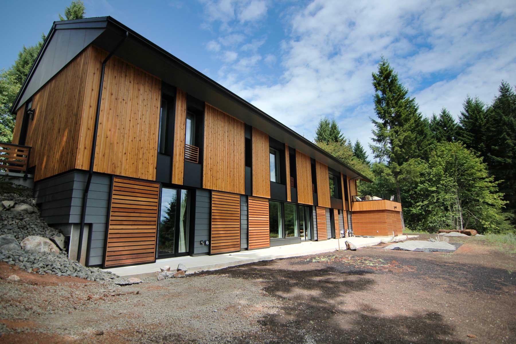 Green Builder HOTY Entry-Pumpkin Ridge Pive House on