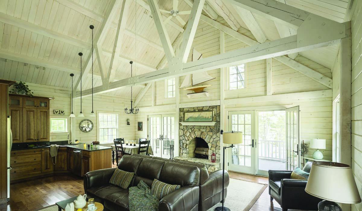 Outstanding Log Home Decor Ideas Vignette - Home Decorating ...