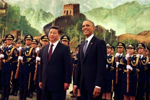 President Obama and Chinese President Xi Jinping