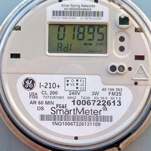 Smart Meter Background