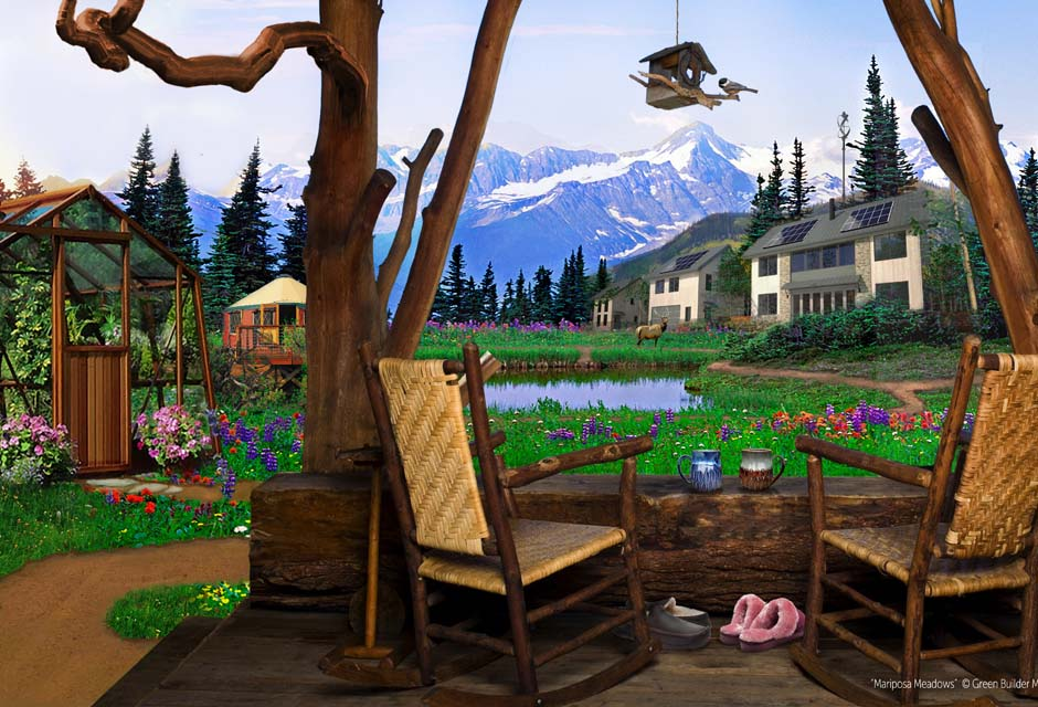 Artist Rendering of Mariposa Meadows