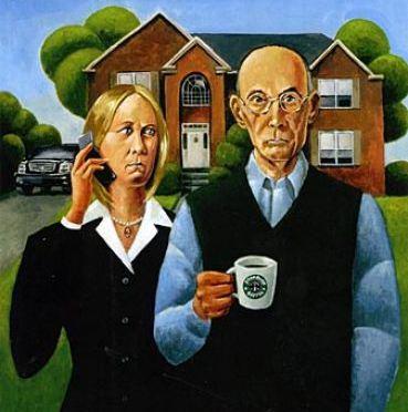 The Unhappy Modern American