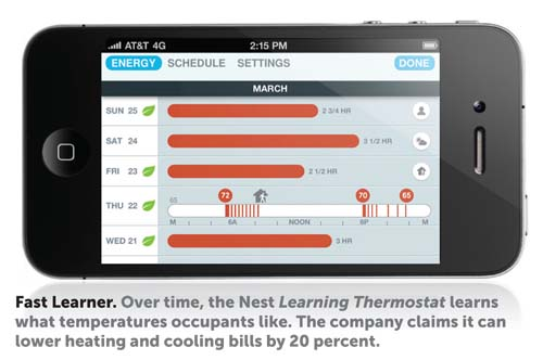 New Learning Thermostat