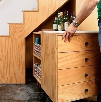 Click for Articles, Videos and Tips on Custom Details for Tiny Houses