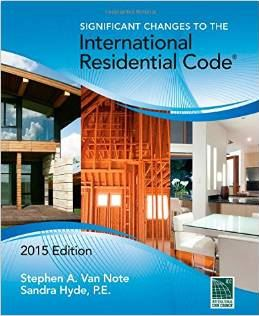 IBC Residential Code Book Cover