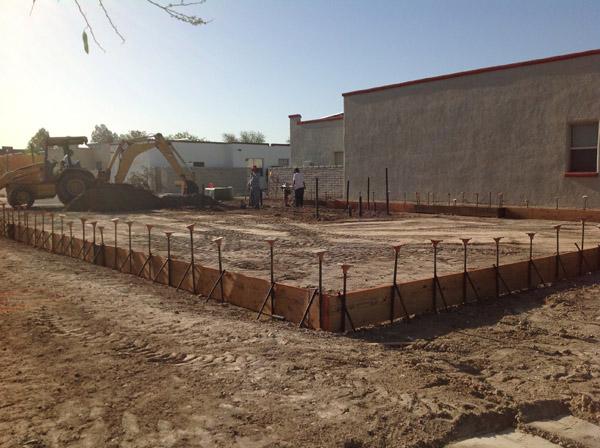 VISION House Tucson Construction Photos