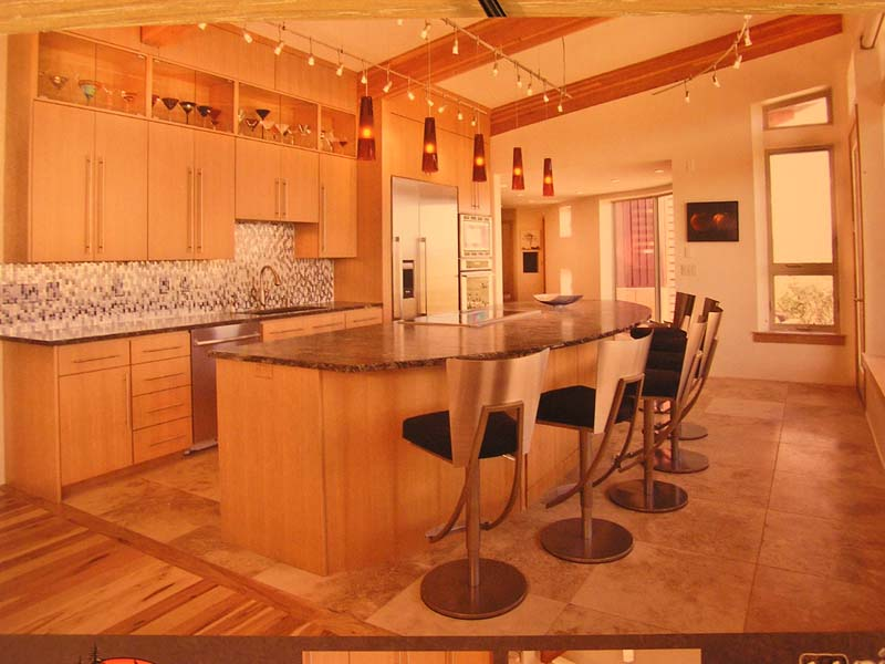 Stargazing House Kitchen Utah