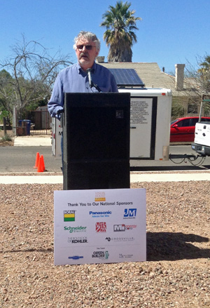 Groundbreaking at VISION House Tucson