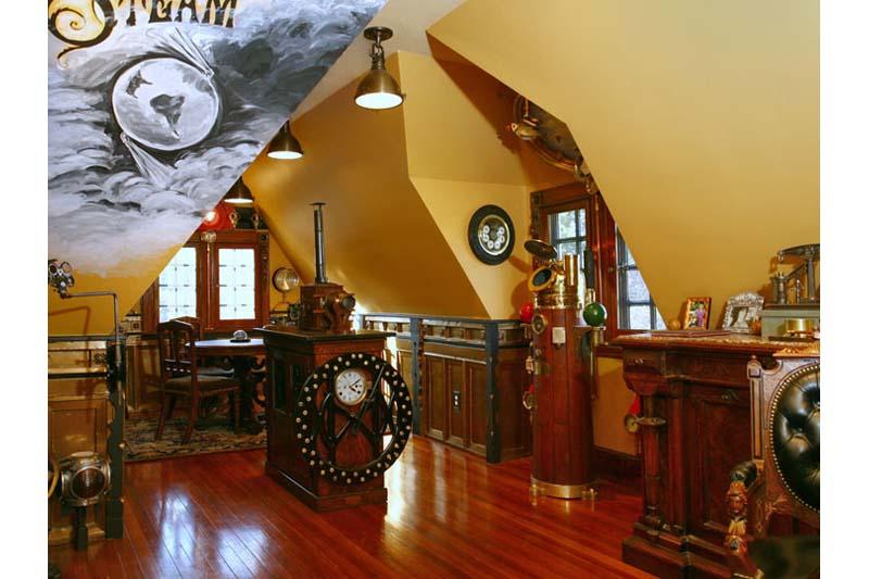 Steampunk Office