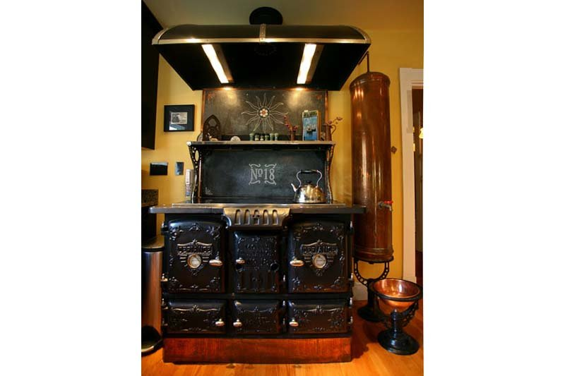 Steampunk Cooking Stove