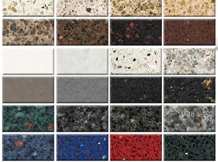 The celestia project video archives for Synthetic countertop materials