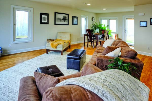Specht Home Living Room Passivhaus
