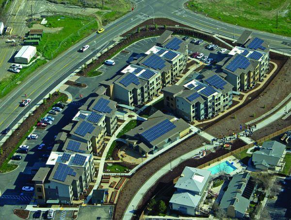 New Harmony Aerial View