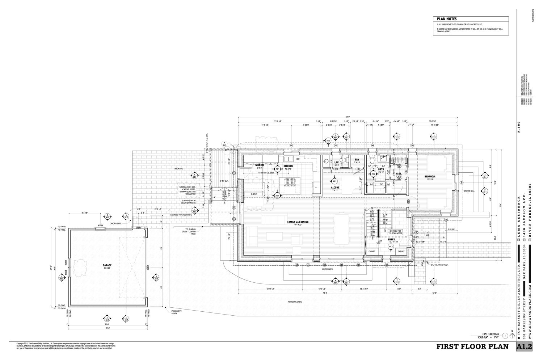 Chicago Passivhaus Floorplan
