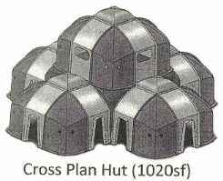 Recovery Hut Cross Plan