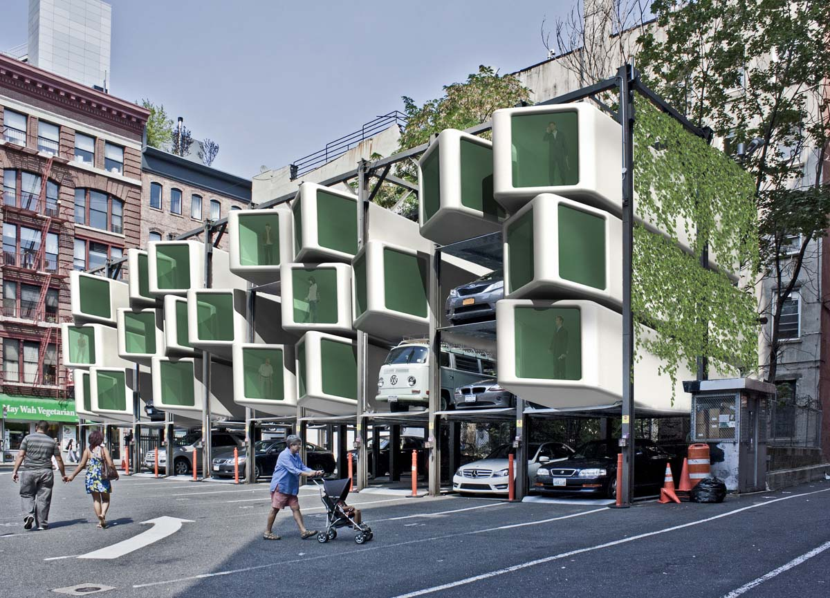Modular upLIFT apartments