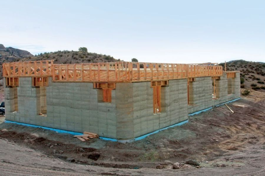 Rammed Earth Structure