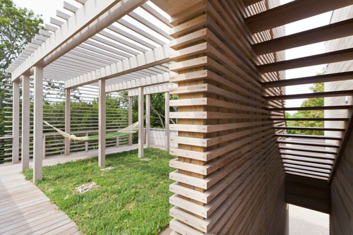 Fishers Island House Roof Space