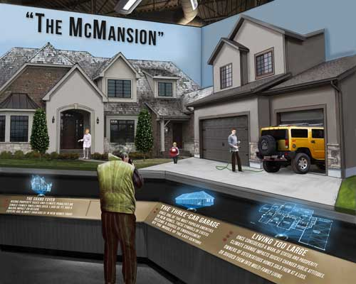 Celestia Museum The Last McMansion