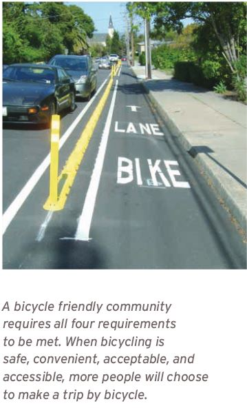 safe bike lane