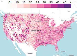 U.S. Commuting Density