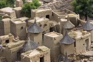adobe homes in Mali