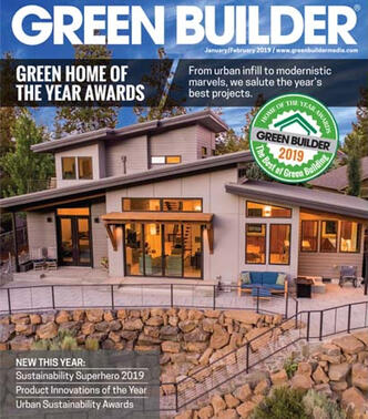 12th Annual Green Home of the Year Awards cover