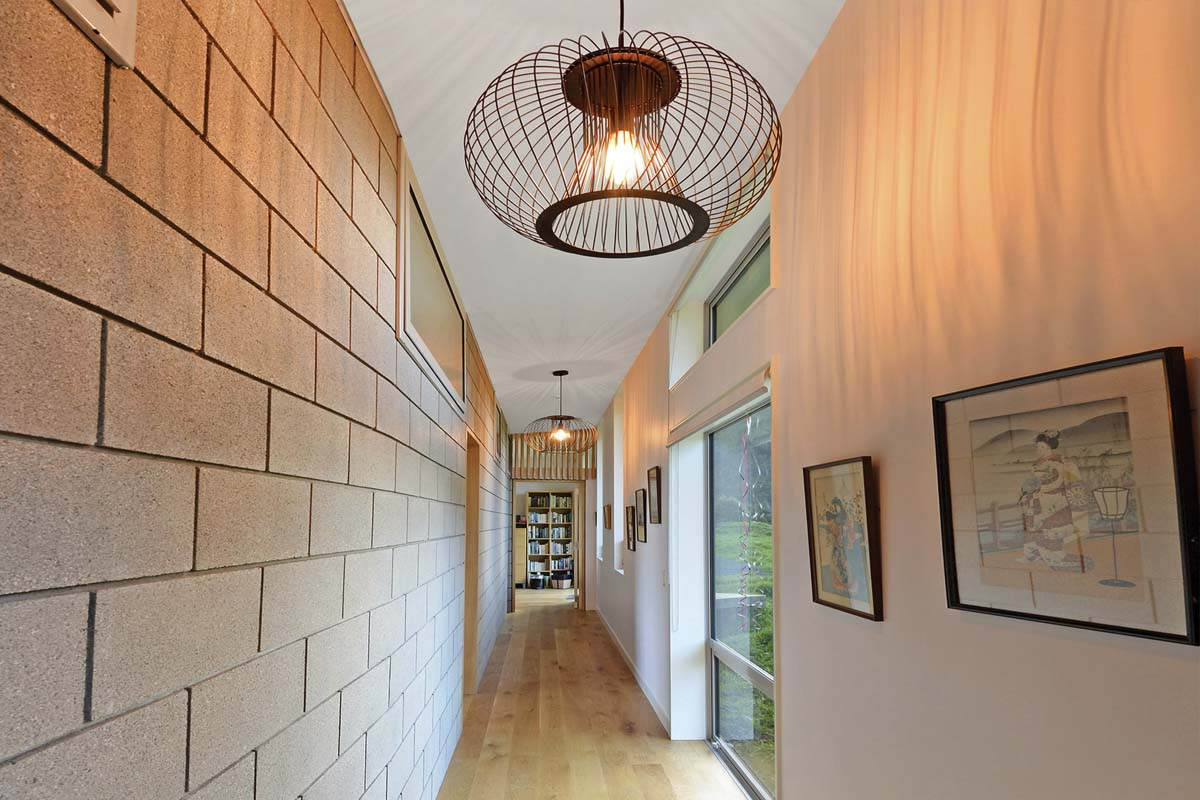 Upland Road House hallway-web