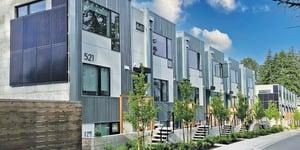 Zero Energy Rental Townhouses