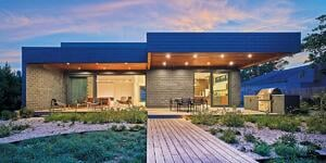 Indoor-Outdoor Connection Makes This Prefab Passive House Shine