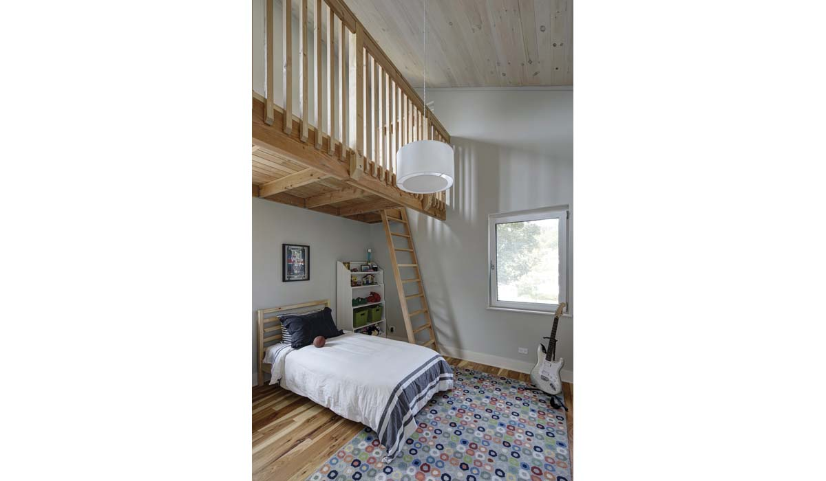 Oak Park Right Sized Home - Kids Bedroom and Loft