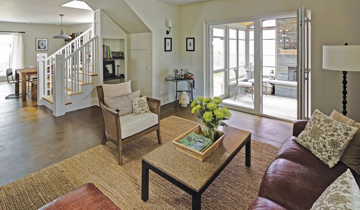 Oak Park Right Sized Home - Living Room