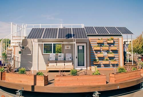 Front Solar TinyHouse Competition