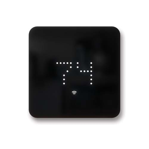 Zen Thermostat - Black - Transparent
