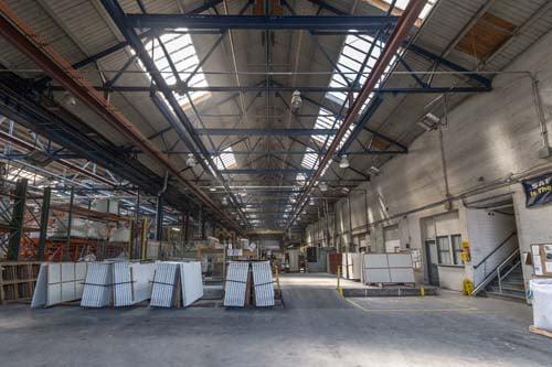 IceStone warehouse light-web