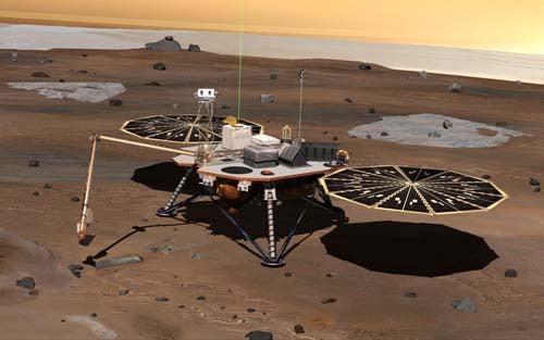Phoenix Mars Lander full-web