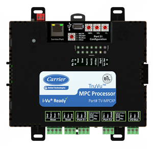 Carrier TruVu Multi-Purpose HVAC Control Platform